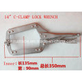 """6"""" 8"""" 10"""" 18"""" C-Clamp Lock Wrench"""