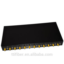 "19"" rack mount 24 port ST rack mounted fiber optic cabinet"