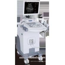 CE Trolley B / W máquina de ultrasonido escáner con 15 pulgadas monitor LED máquina de diagnóstico por ultrasonidos