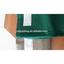 Сплошной Цвет Водонепроницаемый Саржа ТК спецодежды ткани 21*21 и 20*16Poly хлопчатобумажной ткани