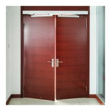 no touch smart switch wooden door double door automatic swing door operator