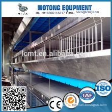 chicken manure removal system for broiler poultry
