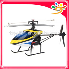 MJX F49 2.4G 4CH 3 Axis Gyro Single-Blade RC Hubschrauber RTF Switchable Mode Blau F649