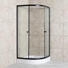 Bathroom Enclosure Cabin Sliding Door Tempered Glass Simple Shower Room