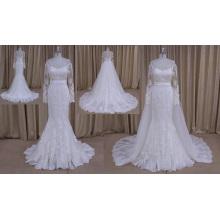 Detachable Skirt Bridal Wedding Dress