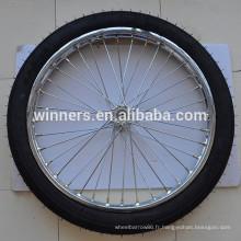 Moto pneu 2.50-18 roue de la roue de sulky