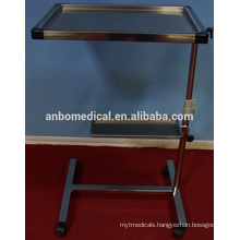 Instrument trolley with two trays