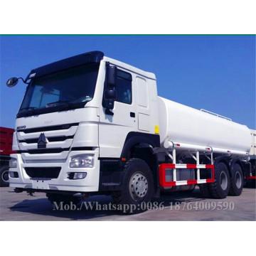 15m3 1200R20 Tire Euro 2 Water Tank Truck