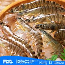 HL002 mariscos congelados camarones grandes