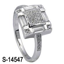 Dernier anneau de mariage en argent sterling 925 (S-14547. JPG)