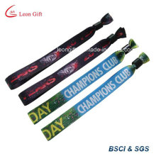 Printed Customized Polyester Sports Bracelet Wristband