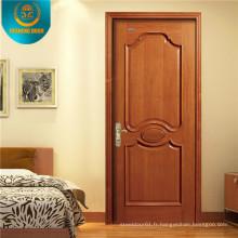 Porte intérieure de pièce de Swing de décoration de style de Morden pour l'Amérique du Sud