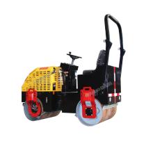 HW-JS700A Model High Efficiency 720KG Ride On Diesel Type Double Drum Road Roller