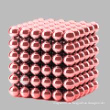 NdFeB Rot gefärbte magnetische Perlen