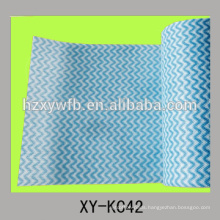 polyester and viscose mixed nonwoven cleaning dust cloth