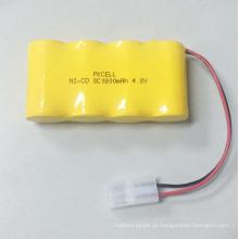 Pkcell 4.8 V 1800 mah Recarregável NI-CD SC Bateria para Atacado