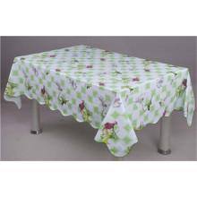 Alta qualidade lfgb barato não tecido de apoio toalha de mesa de plástico de pvc (jf0023)