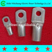 Высокое качество медные и алюминиевые кабельные наконечники терминалы для электрической мощности установки сделал быль надежный поставщик Хэбэй WeiChuang
