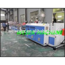Línea de máquina de extrusión PVC WPC puerta panel con precio bajo