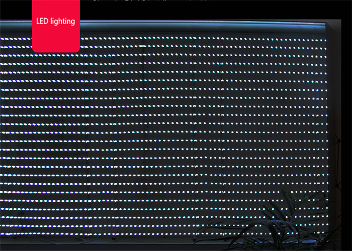 LEDs of frameless fabric light box
