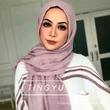 Fashion muslim women hijab wholsale muslim scarf crinkle bubble hijab