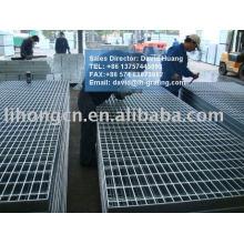 Grilles métalliques galvanisées