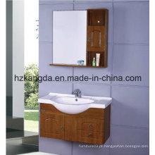 Gabinete de banheiro de madeira maciça / vaidade de banheiro de madeira maciça (KD-418)