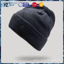 Фабрика Популярная модная лыжная вязаная шапка для продажи