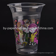 Beautiful Pattern Disposable Plastic Cup