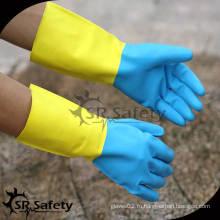 SRSAFETY 2014 новые перчатки для мытья нитрила для домашних хозяйств
