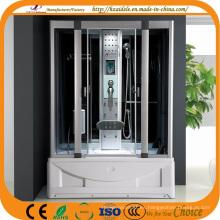Cabina de ducha de vapor ABS con bañera (ADL-8808)