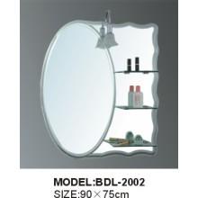 Miroir de salle de bain en argent de 5 mm d'épaisseur en argent (BDL-2002)