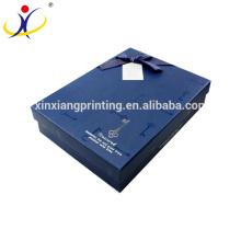 Couleur adaptée aux besoins du client! Boîte de haute qualité et boîtes d'emballage de vêtements Boîtes de papier de cadeau d'affaires