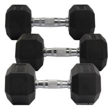 Factory Selling Power Training Equipment 10 20 Lb 50 pound Hexagonal Dumbbell Gym Set