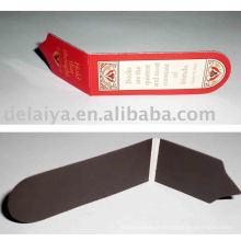 Fashion folding magnetic bookmark