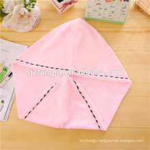 super soft 25*65cm,300gsm Hair Drying Towel with Buttons