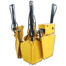 New Design Mini Skid Steer Crawler Loader Attachments Hydraulic Tree Spade for Greening