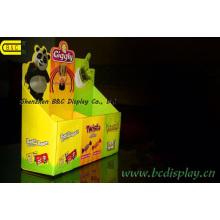 Almacén especial, pequeña, caja de presentación de papel, mostrador PDQ, caja de presentación, PDQ (B & C-D060)