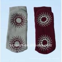 Calcetines antideslizantes de algodón