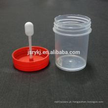 Copo de urina com tampa de rosca com grande preço