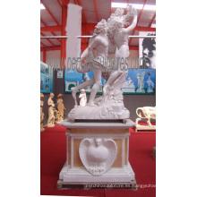 Tallando la estatua de mármol del jardín de la escultura de mármol para la decoración del jardín (SY-X1193)