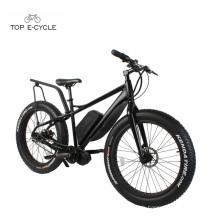 TOP Nouveau Style Bafang 750 W Mid Drive Moteur Fat Tire Neige Vélo électrique 2017