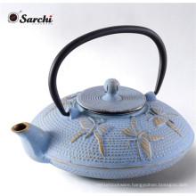 Cast Iron Positivity Teapot, 26-Ounce, Dusk