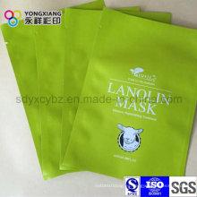 Laminado 3-Side sellado bolsa de plástico máscara de embalaje