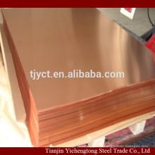 lámina de cobre de 1 mm