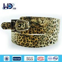 2015 Fashion ladies leopard belts