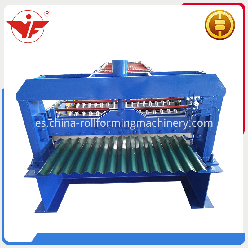 Head Of Corruagted Roof Panel Roll Forming Machine