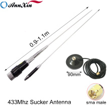 High Gain Long Range 433Mhz Sucker Custom Car Antenna