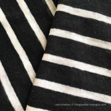 Tricot en lin tricoté en lin (QF14-1546-SS)