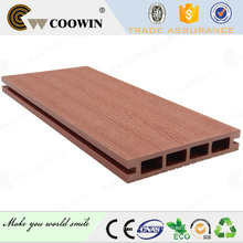 Revestimento exterior da varanda / pátio plástico de madeira decking composto